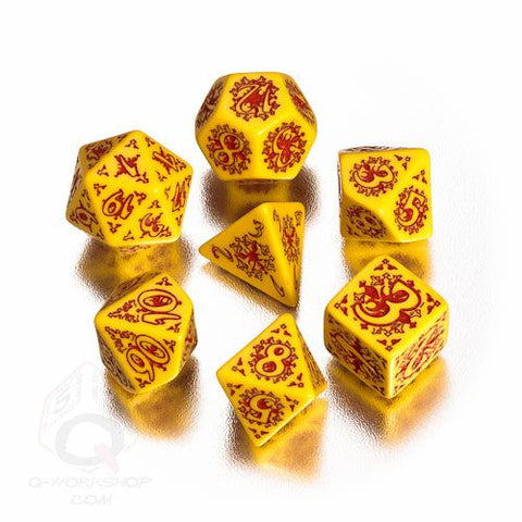 RPG Dice Set Pathfinder Legacy of Fire 7pc