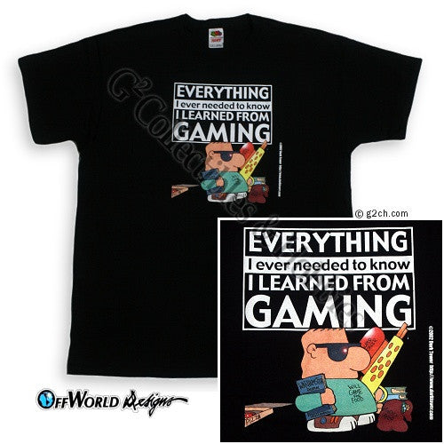 3XL Everything Gaming T-Shirt