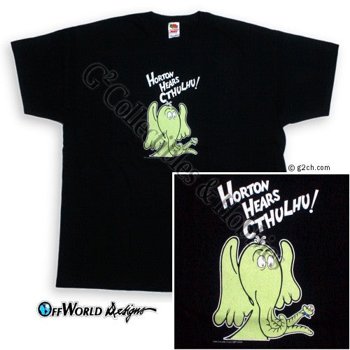 2XL Horton Hears Cthulhu T-Shirt