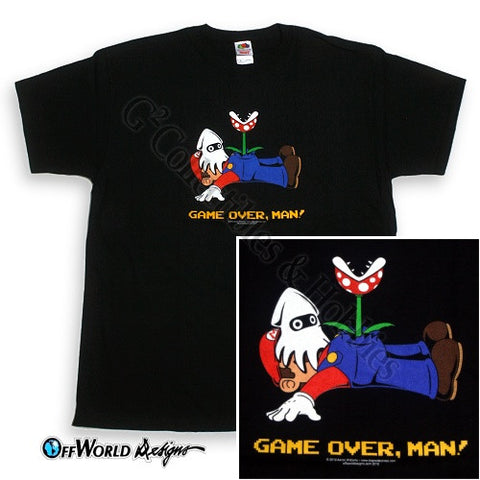 2XL Game Over Man T-Shirt