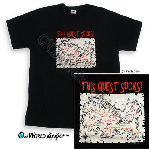 XL This Quest Sucks T-Shirt