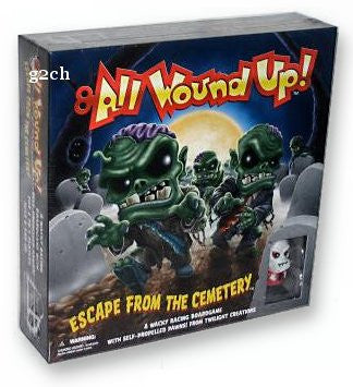 All Wound Up Board Game
