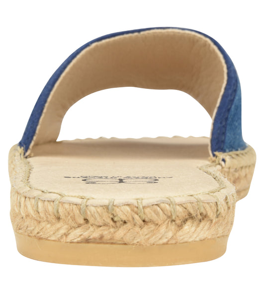 Candice Denim Slide Espadrille Sandal - Shop comfortable sneaker, Sandals & high quality flats, wedges online!
