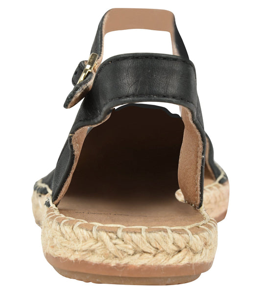 Capri Black Flat - Shop comfortable sneaker, Sandals & high quality flats, wedges online!