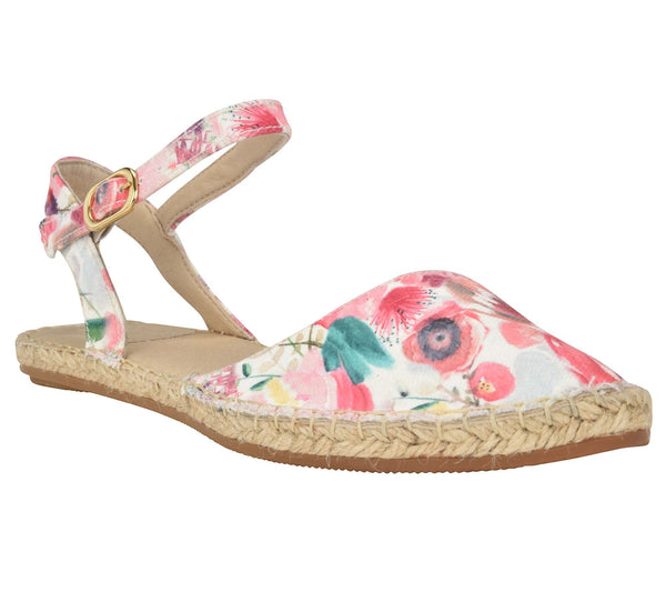 Capri Floral Flat - Shop comfortable sneaker, Sandals & high quality flats, wedges online!