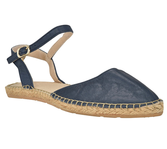Capri Navy Flat - Shop comfortable sneaker, Sandals & high quality flats, wedges online!