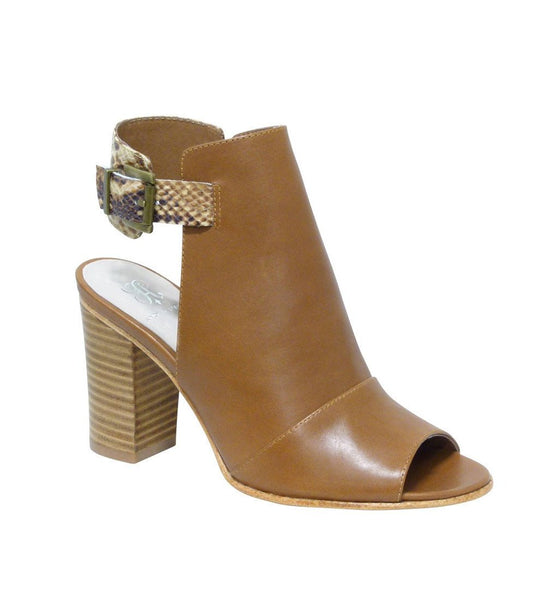 Cheyenne Tan Heeled bootie - Shop comfortable sneaker, Sandals & high quality flats, wedges online!