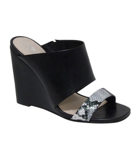 Geneva Black Wedge Sandal - Shop comfortable sneaker, Sandals & high quality flats, wedges online!