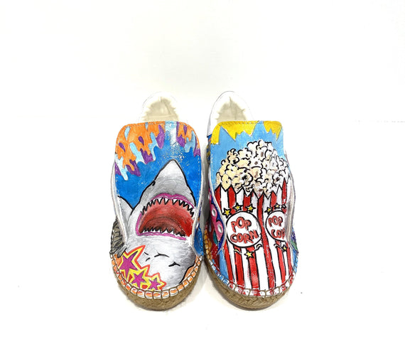 Terra Graffiti Espadrille Sneaker Size 36/5.5-6 - Shop comfortable sneaker, Sandals & high quality flats, wedges online!