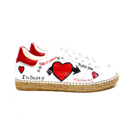 Terra Kiss Leather Espadrille Sneaker - Shop comfortable sneaker, Sandals & high quality flats, wedges online!