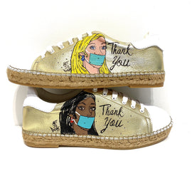 Terra Thank You Leather Espadrille Sneaker - Shop comfortable sneaker, Sandals & high quality flats, wedges online!