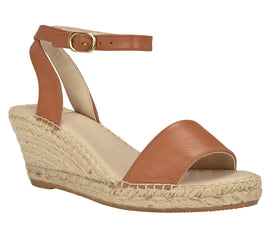 Leah Cognac Sandal - Shop comfortable sneaker, Sandals & high quality flats, wedges online!