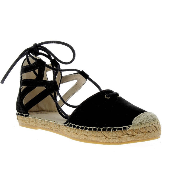 Mikaela Black Flat - Shop comfortable sneaker, Sandals & high quality flats, wedges online!