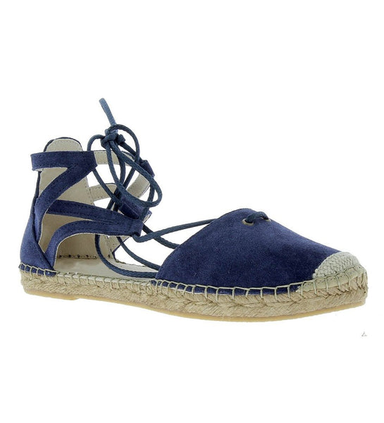 Mikaela Navy suede flat - Shop comfortable sneaker, Sandals & high quality flats, wedges online!