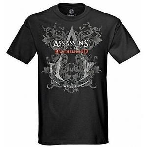 gaming tee shirts ASSASSIN'S CREED BROTHERHOOD SHIRT