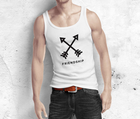 Friendship Arrow - Best Friend Tank Top - Men
