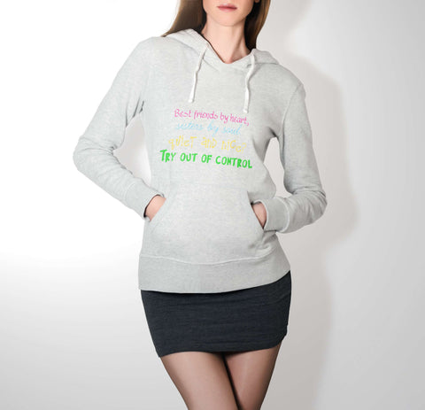 Best Friends By Heart - Best Friend Hoodie For Women