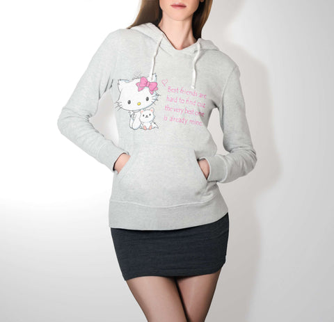 Bestie Hello Kitty - Best Friend Hoodie For Women