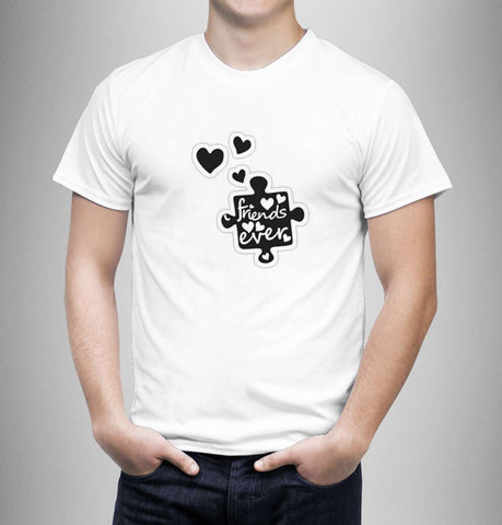 Friends Heart Ever - Love Tshirts - Men