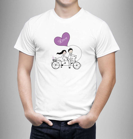 Love Bike - Love Tshirts - Men