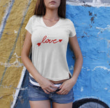 Love Arrow - Love Tshirt For Women
