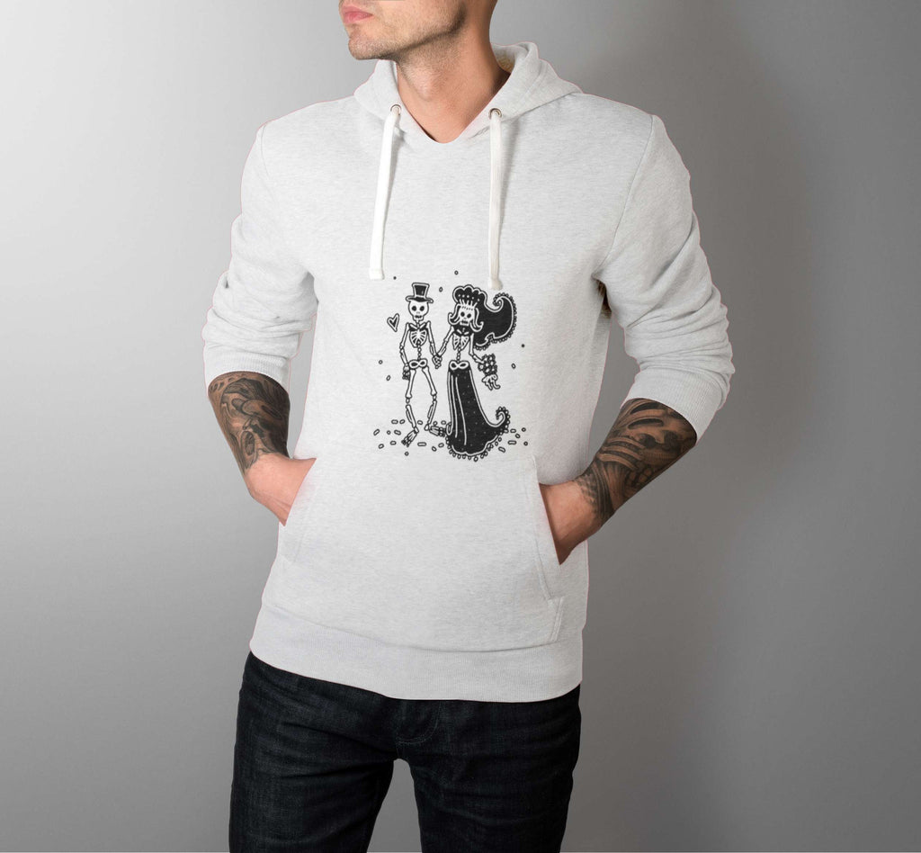 Romantic Skele - Love Hoodies - Men