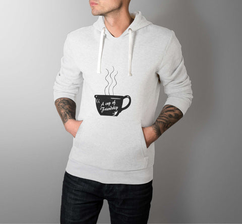 A Cup of Friendship - Best Friend Men Hoodie