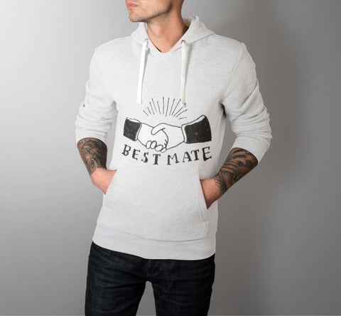 Best Mate - Best Friend Men Hoodie