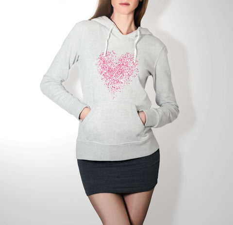 Full Heart - Love Hoodie For Women