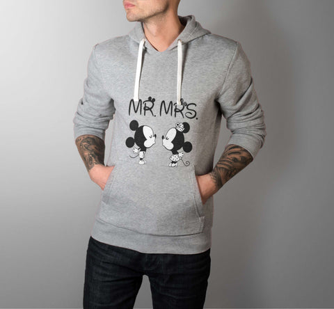 Mr. & Mrs. - Love Hoodies - Men