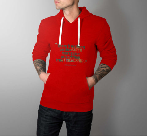 True Friendship - Best Friend Men Hoodie