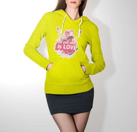 All You Need Is Love - Love Hoodie For Women