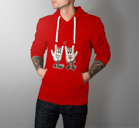 HandyLove - Love Hoodies - Men