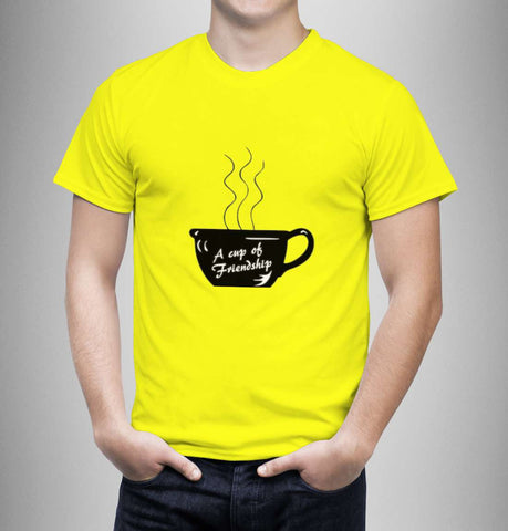 A Cup of Friendship - Best Friend Men T-Shirt