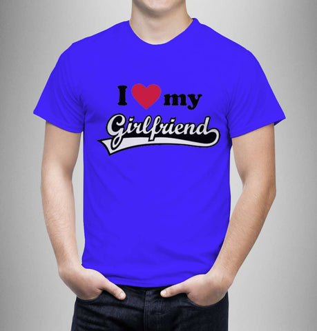 Love My Girlfriend - Love Tshirts - Men