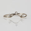 Nereid Diamond Ring in Solid White Gold