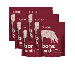 100% Grass-Fed Beef Bone Broth Kit - 6 kit case (Free Shipping)