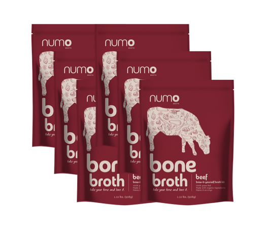 100% Grass-Fed Beef Bone Broth Kit - 6 kit case