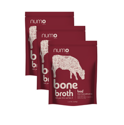 100% Grass-Fed Beef Bone Broth Kit - 3 pack (Free Shipping)