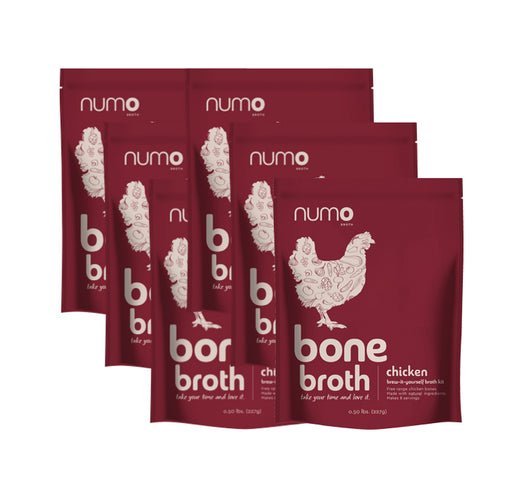 100% Free-Range Chicken Bone Broth Kit - 6 kit case (Free Shipping)