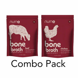 Chicken & Beef Bone Broth Combo pack (Free Shipping)