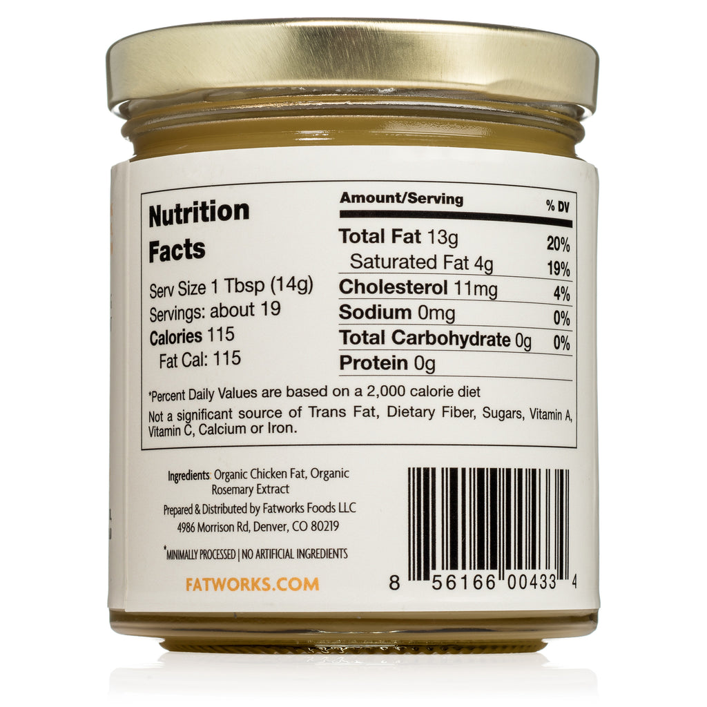 Chicken Fat Info 2