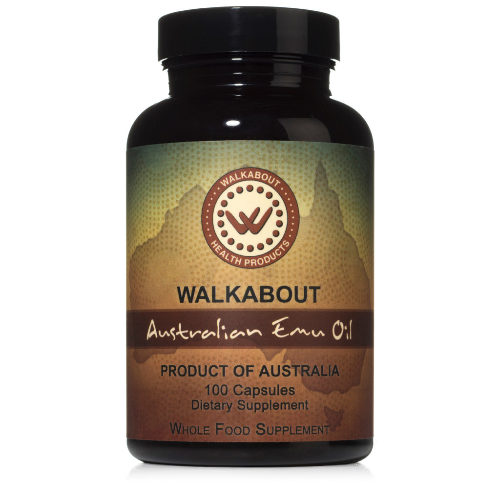 Walkabout Emu Oil Capsules