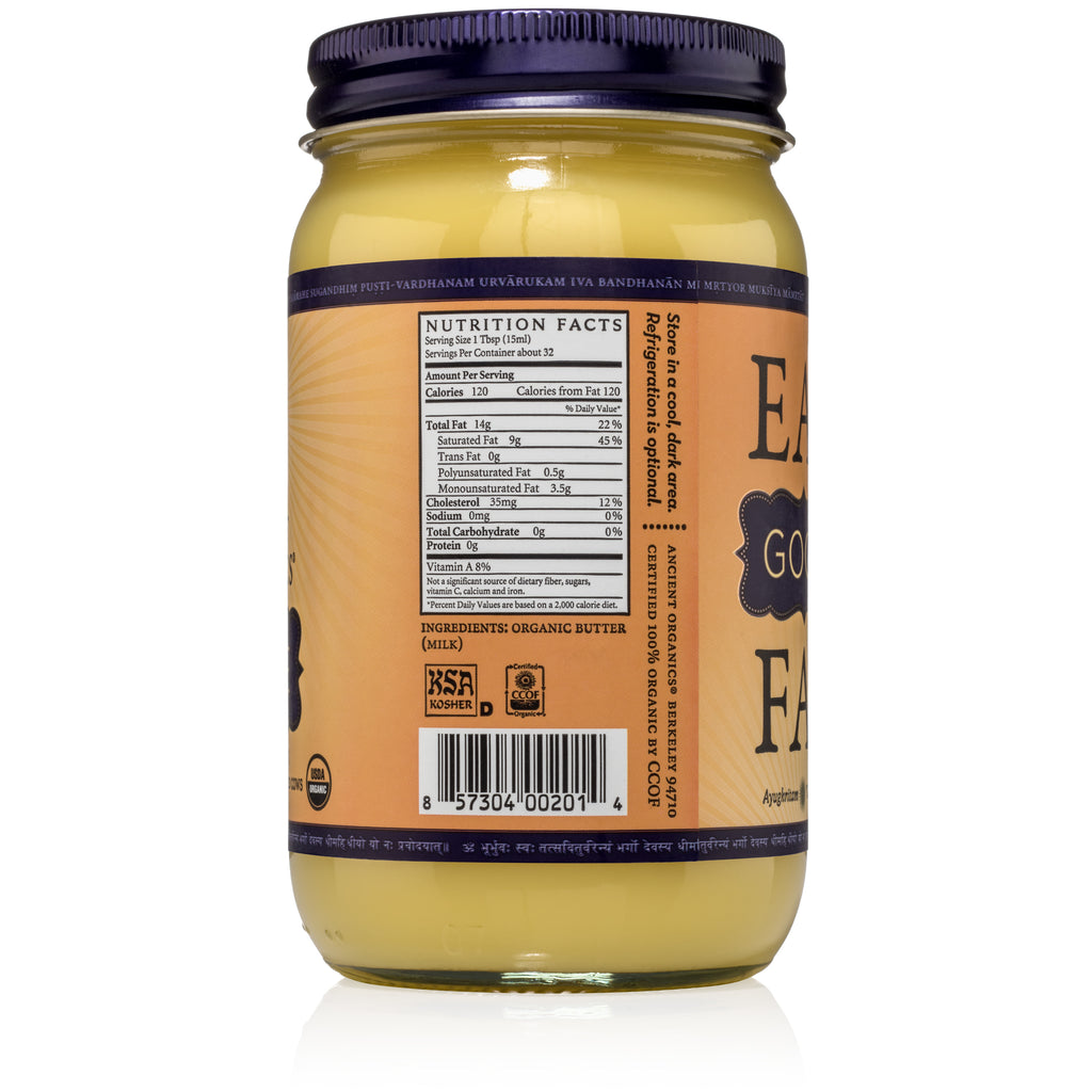 Ghee ~ 8 oz. and 16 oz.