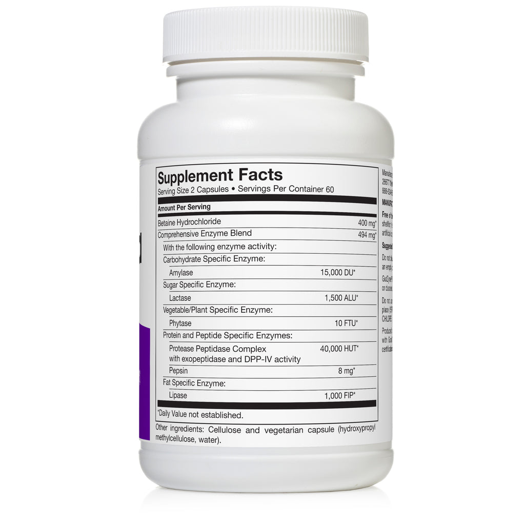 GutZyme® HCl ~ 120 capsules