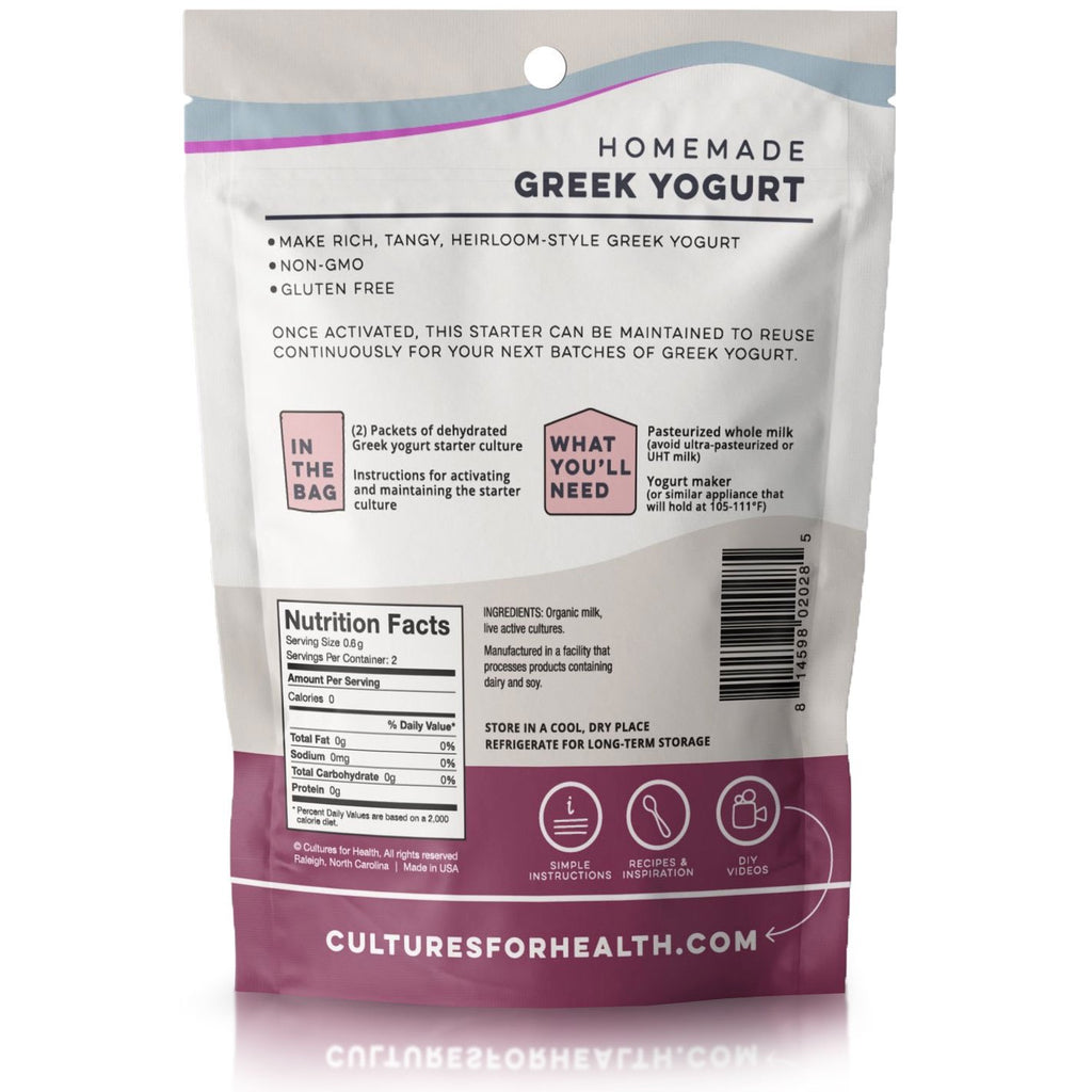 Greek Yogurt Starter