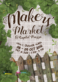 Makers Market at Capitol Piazza: 8 - 9 Oct 2016