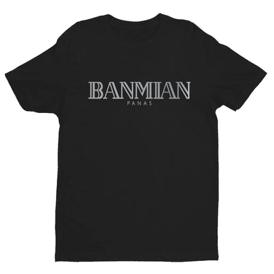 (Limited Silver Edition) Banmian Panas Crew Neck S-Sleeve T-shirt