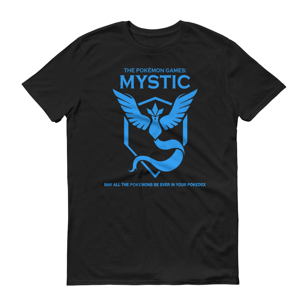 The Pokémon Games: Team Mystic Kids Crew Neck S-Sleeve T-shirt