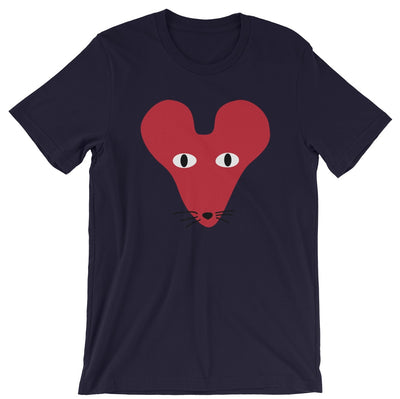 Red Faced Rat Crew Neck S-Sleeve T-shirt